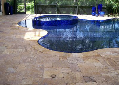 Pool Deck Tile by GVS Custom Renovations