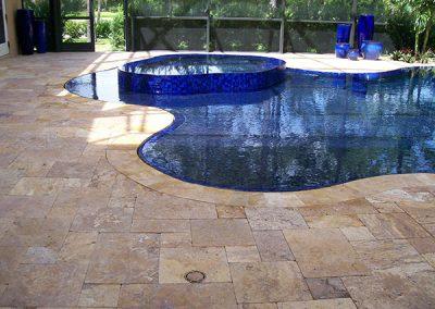 Pool Deck Tile by GVS Custom Renovations