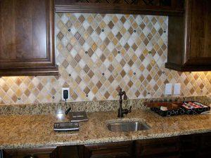 Custom Kitchen Backsplash by GVS Custom Renovations